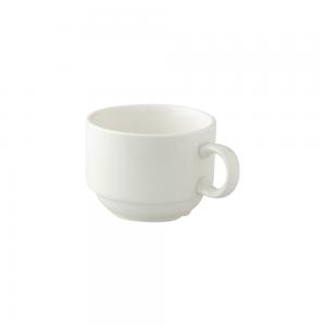 Kop 17,5cl Stapelbaar koffie Royal Ivory