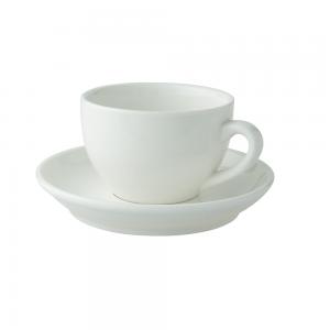 kop en schotel cappuccino 18cl